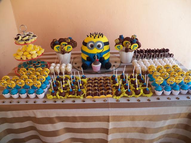 Decoração festa tema Minions