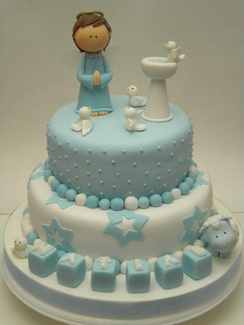bolo batizado ideias 10