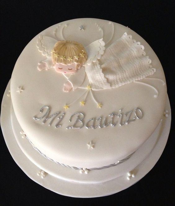 bolo batizado ideias 5