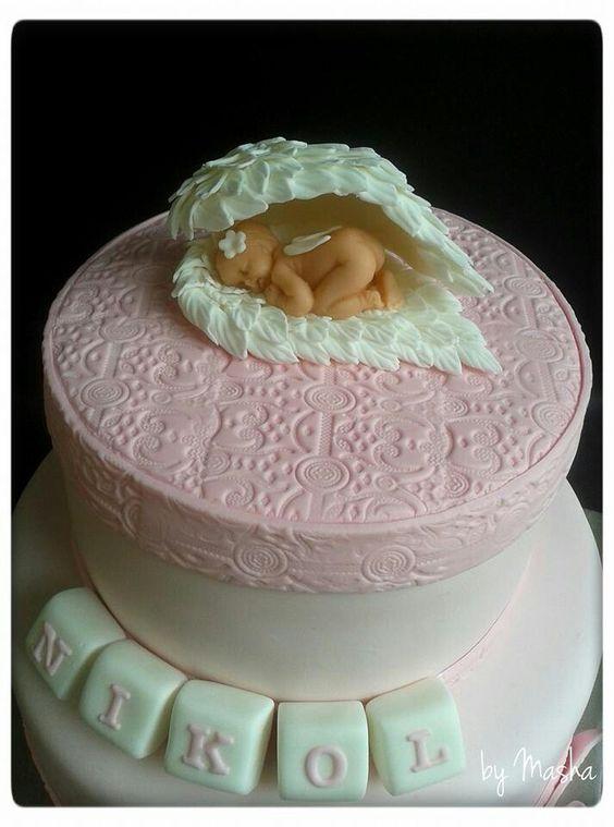 bolo batizado ideias 7