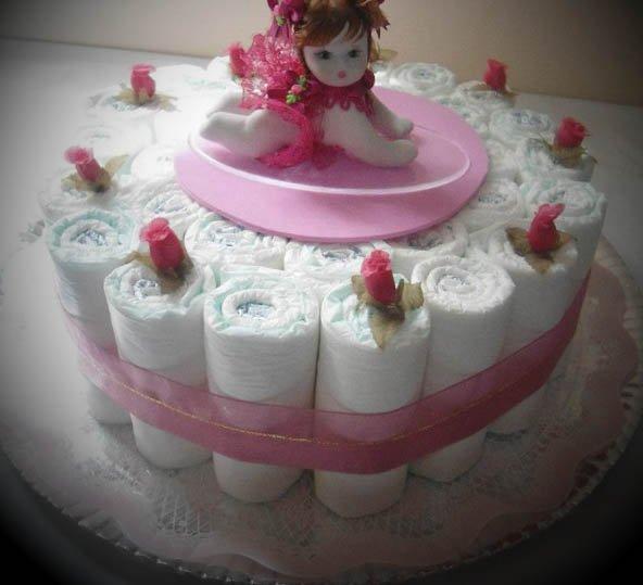 Cake Design Passo A Passo : Modelos de Bolos de Fraldas Faceis de Fazer