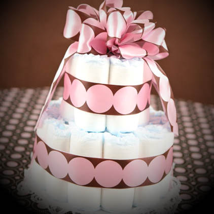 bolo-de-fraldas-rosa-marrom