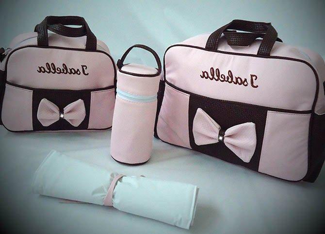 bolsa maternidade personalizada