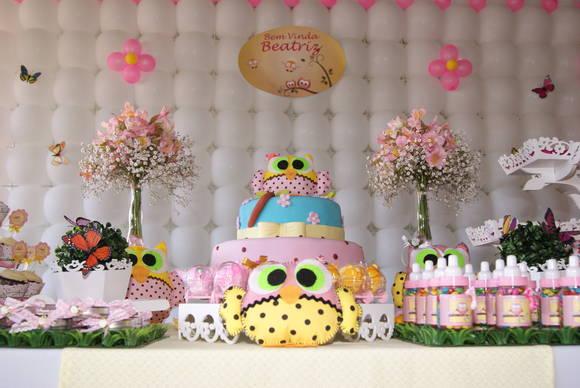 cha-de-bebe-corujinhas-cupcakes