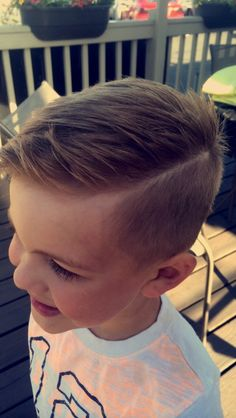 corte cabelo menino