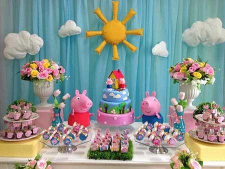 decoracao festa pegga pig 1