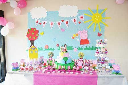 decoracao festa pegga pig 2