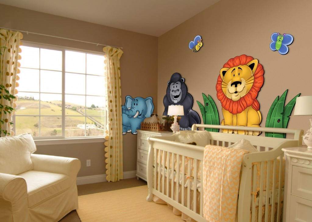 decoracao-infantil-selva-imagens