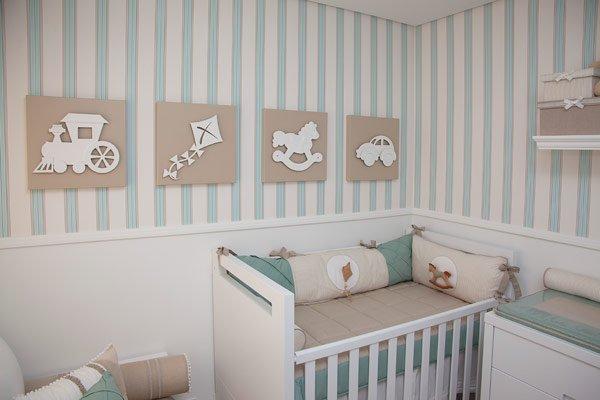 Decora o de quartos de bebe com papel de parede - Papel pared bebe ...