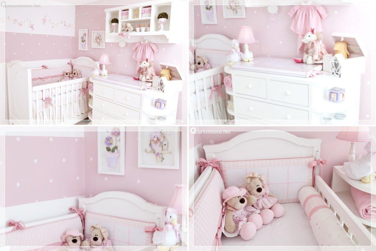 decorar quarto de bebe menina