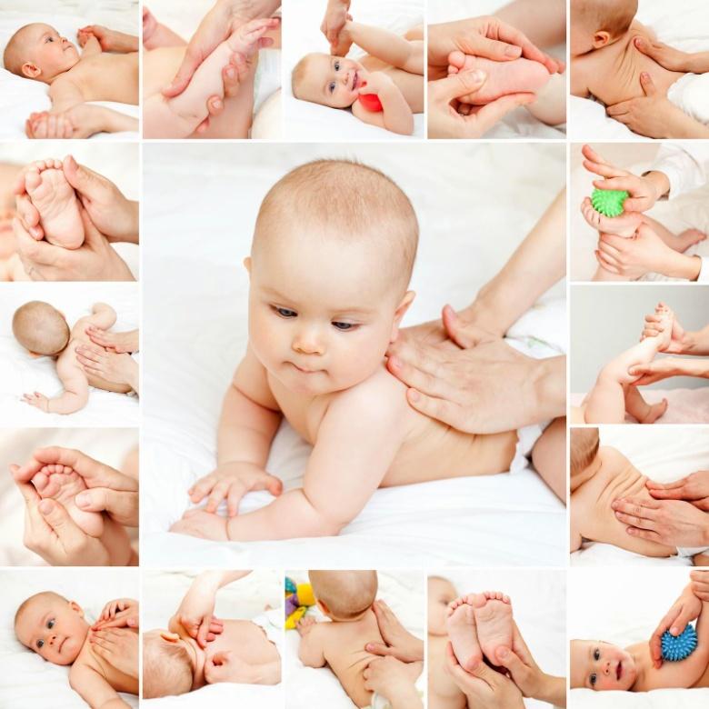 dicas massagem bebe