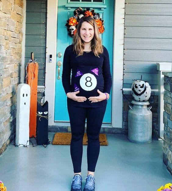 fantasias de halloween para gravidas bola8