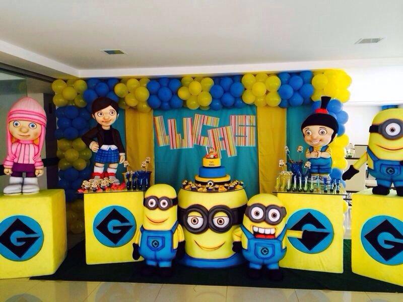 festa infantil minions