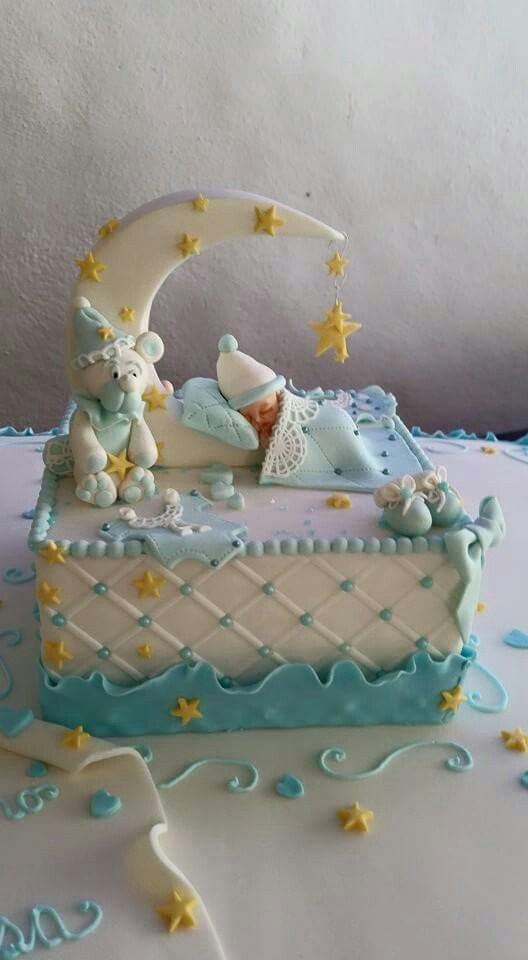 ideias bolos cha bebe 10