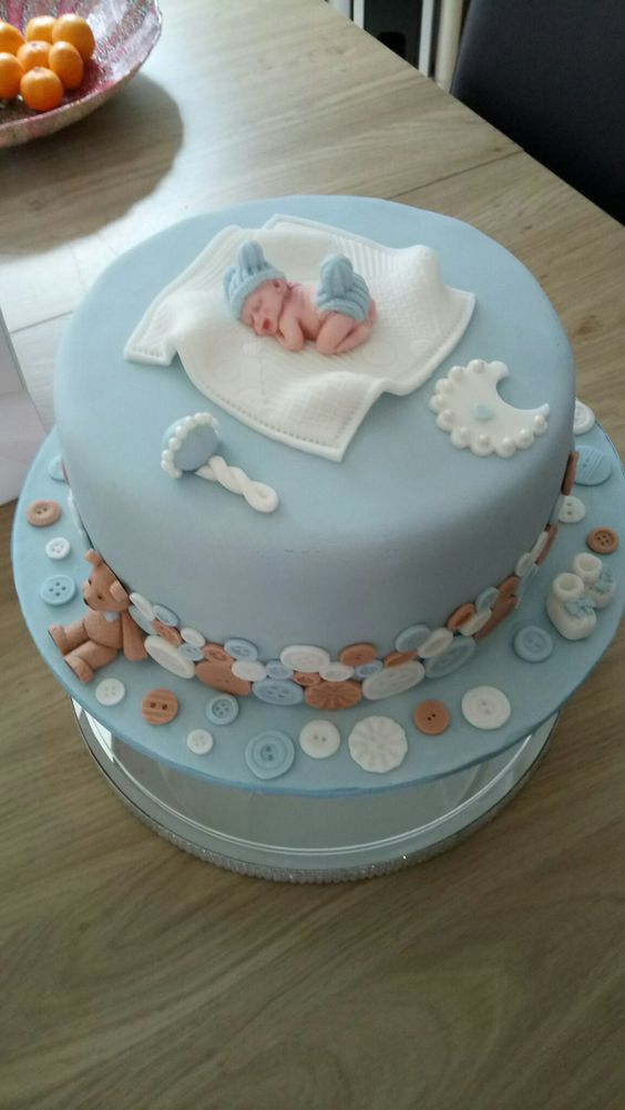ideias bolos cha bebe 3