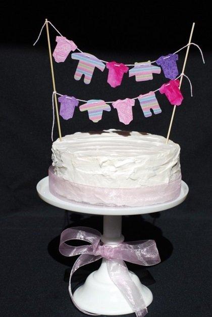 ideias bolos cha bebe 5