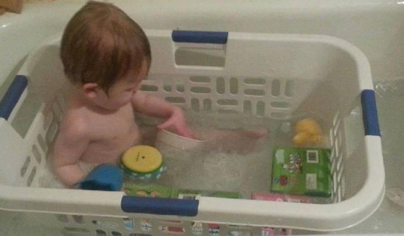 ideias simples barata banho
