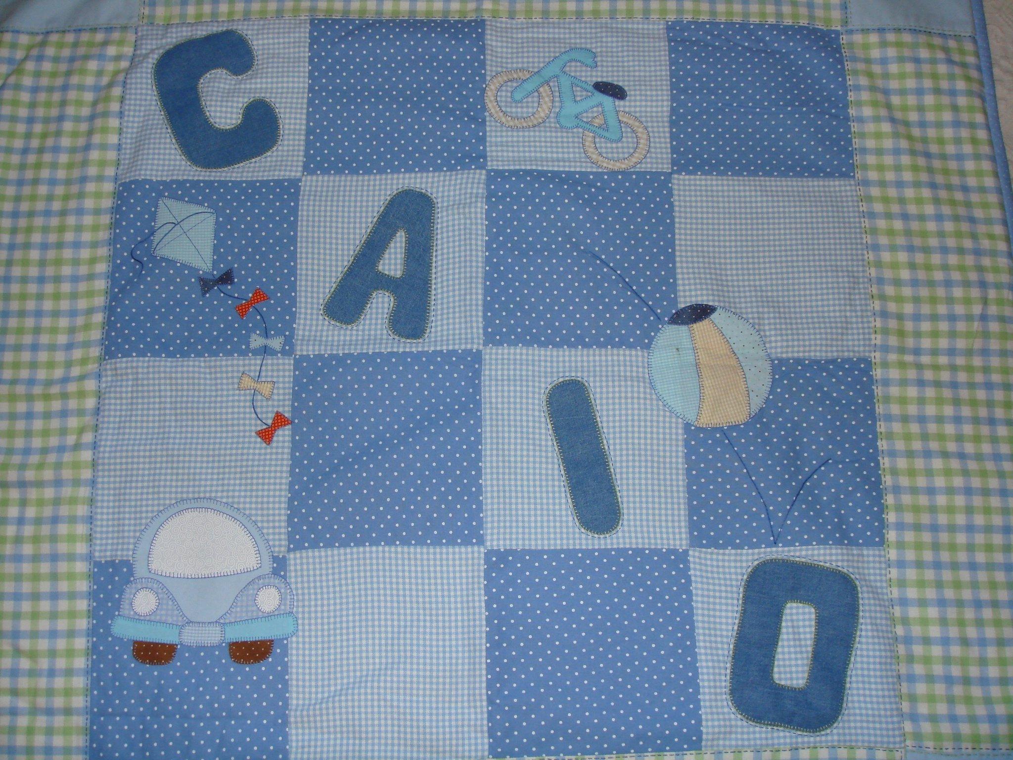 manta bebe patchwork