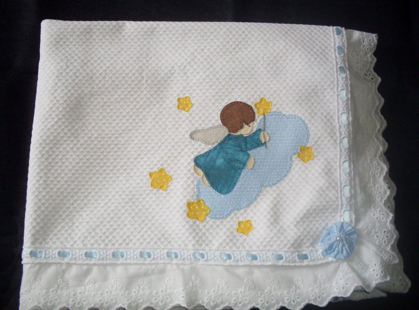 manta para bebê primeiro passo com babado
