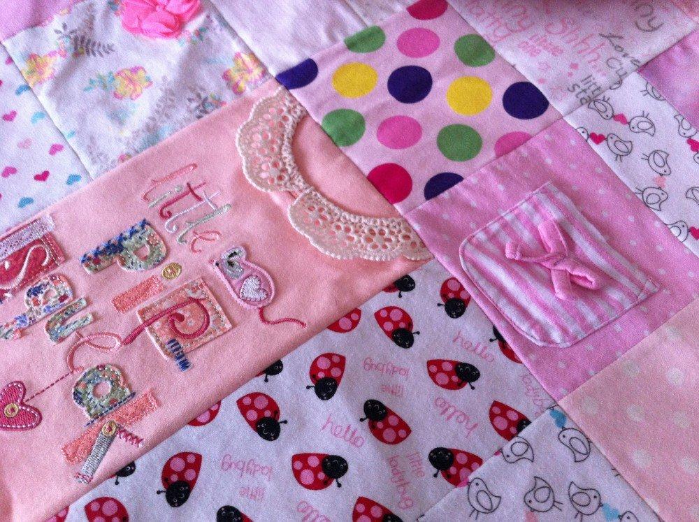 manta feita roupa bebe 4