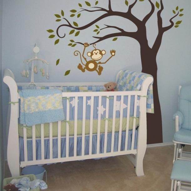 temas para quarto de bebe selva