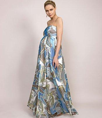 vestido para gestante